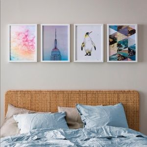 Abstract Print Set of 4